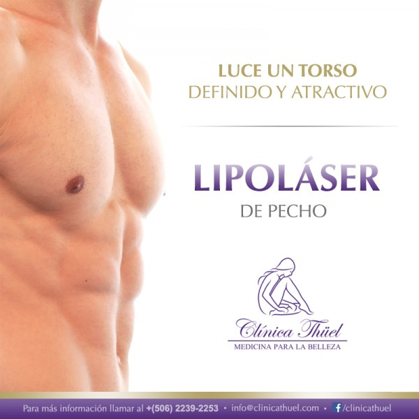 Lipolaser-Pecho